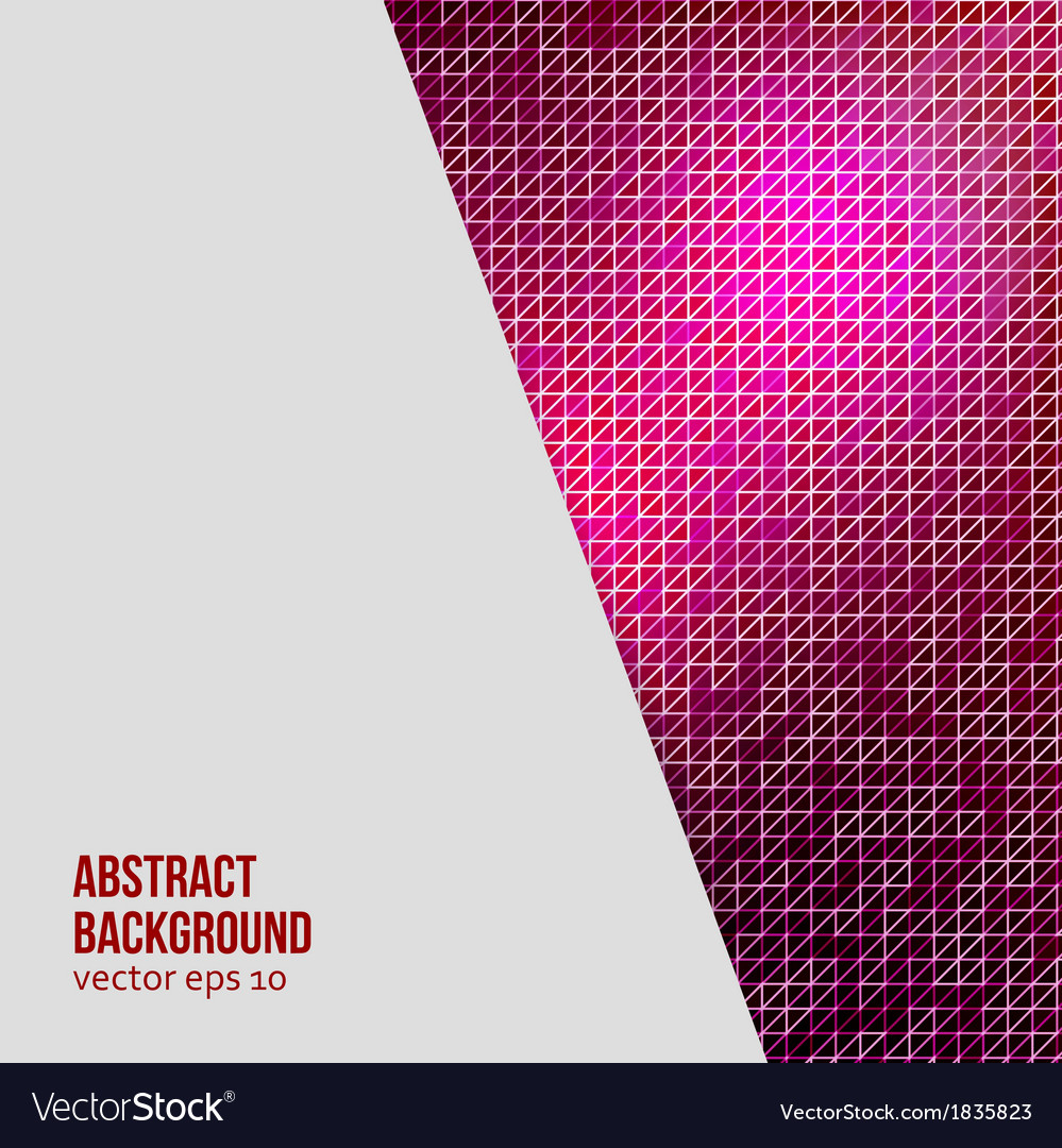 Abstract background triangle geometric vector | Price: 1 Credit (USD $1)
