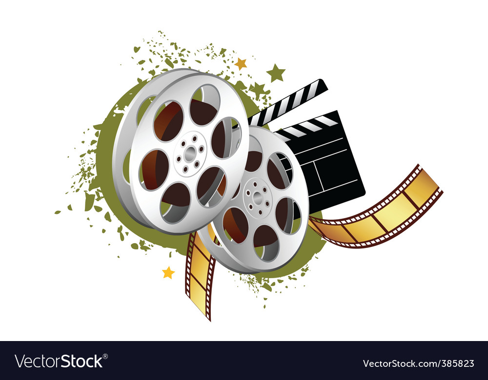 Film elements vector