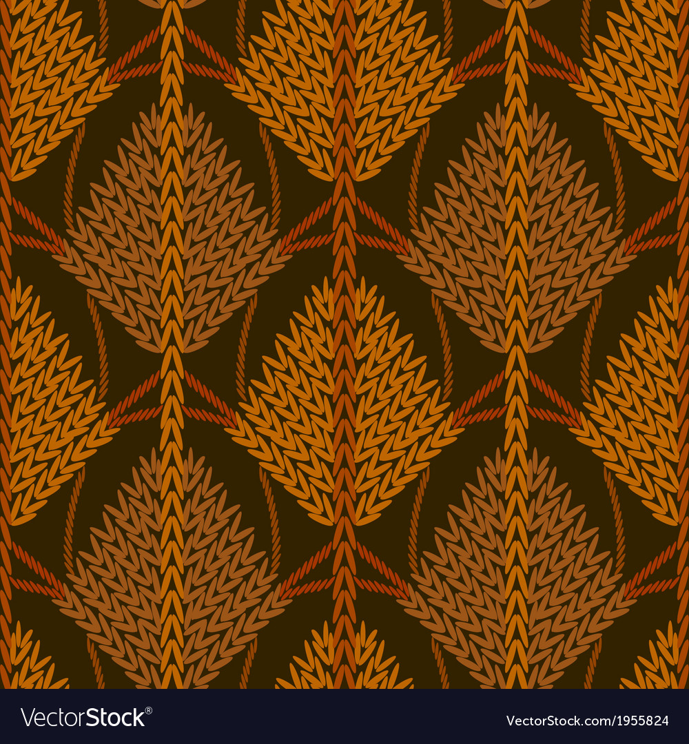 Colored knitted openwork background pattern vector | Price: 1 Credit (USD $1)