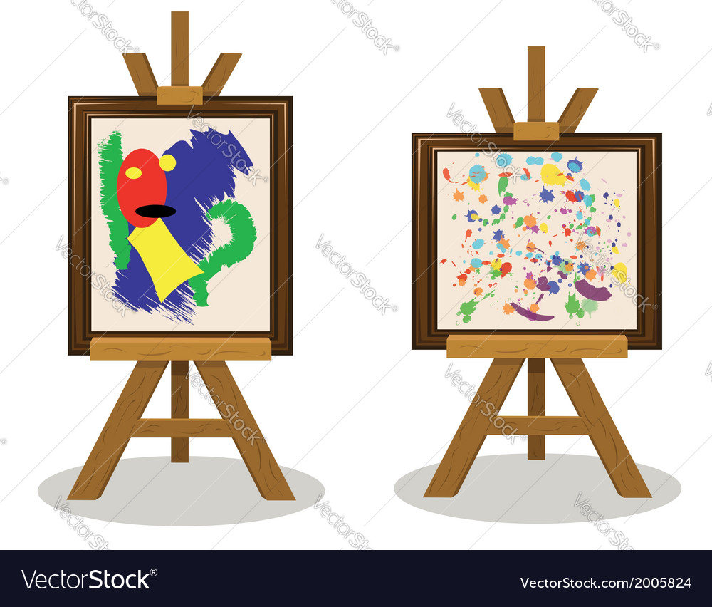 Modern art pieces vector | Price: 1 Credit (USD $1)