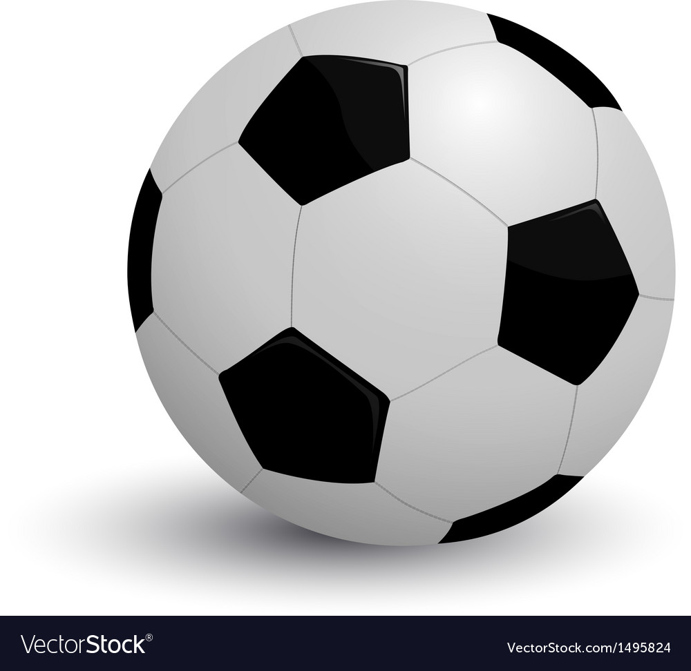 Soccer icon vector | Price: 1 Credit (USD $1)