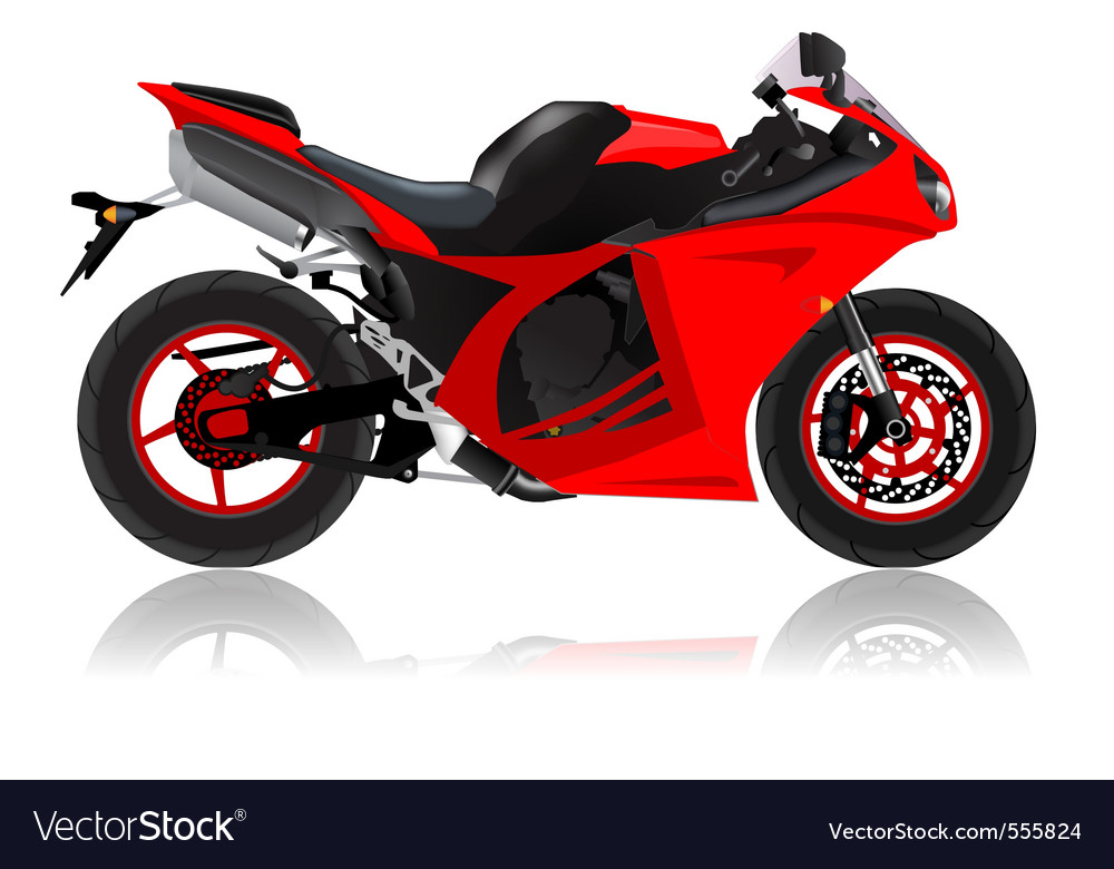 Super bike vector | Price: 3 Credit (USD $3)