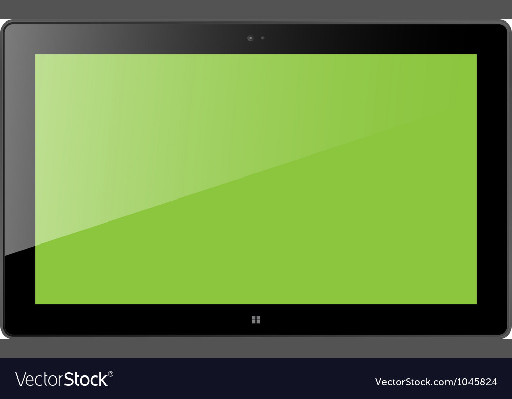 Win tablet vector | Price: 1 Credit (USD $1)