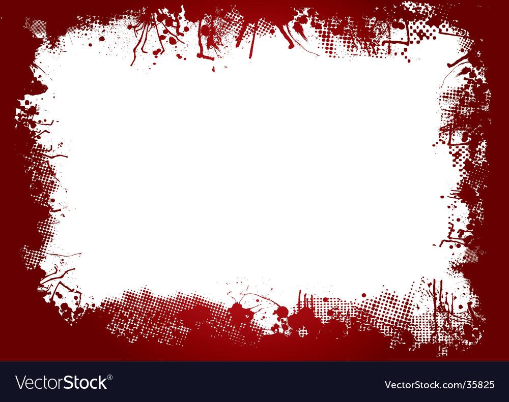 Blood border vector | Price: 1 Credit (USD $1)