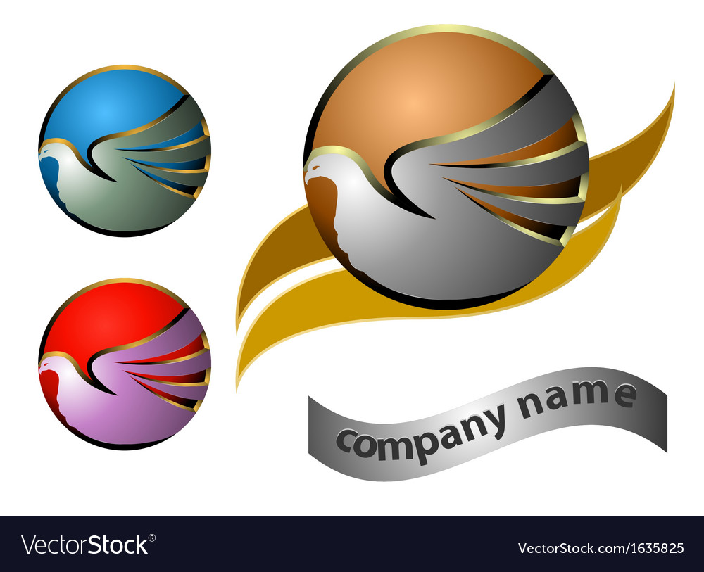 Company name business background vector | Price: 1 Credit (USD $1)