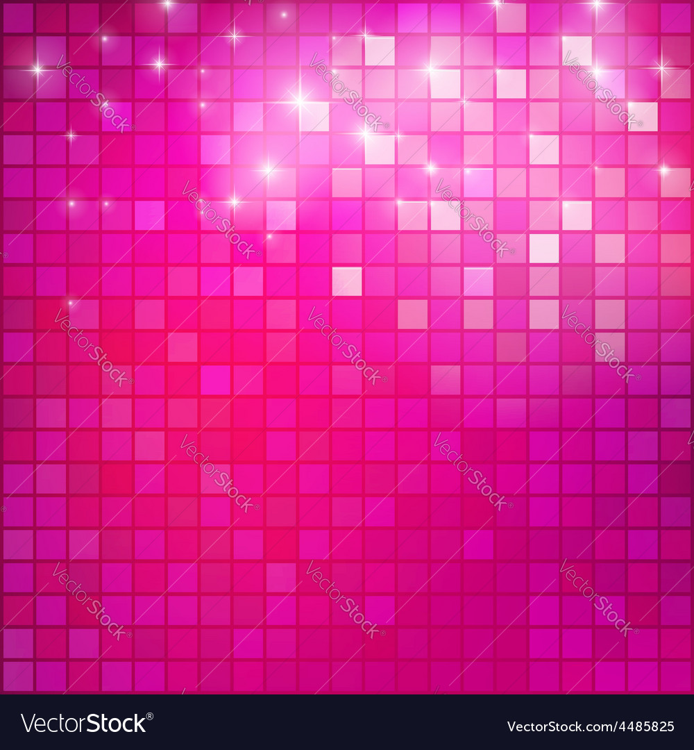 Pink mosaic vector | Price: 1 Credit (USD $1)