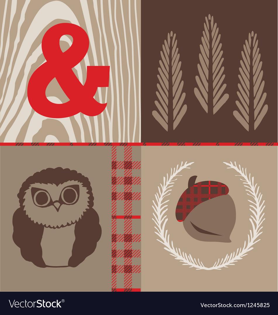 Woodsy owl vector | Price: 1 Credit (USD $1)