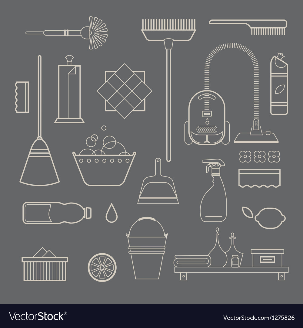 Cleaning icons vector   Price: 3 Credit (USD $3)