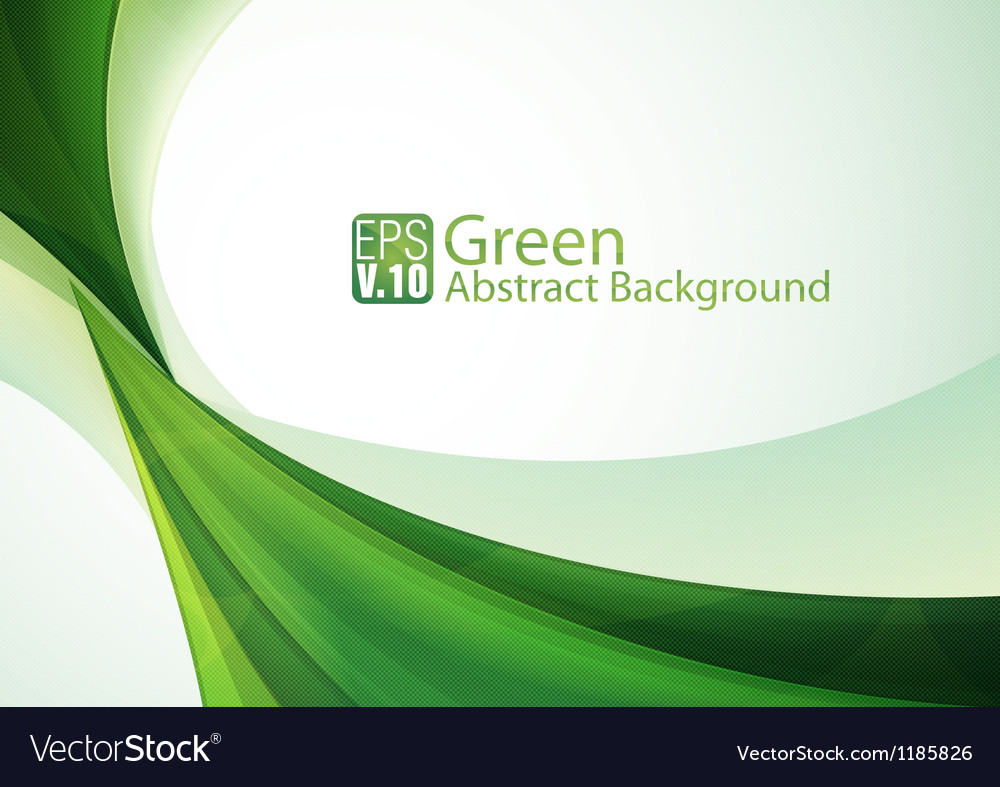 Green abstract background 3 vector | Price: 1 Credit (USD $1)