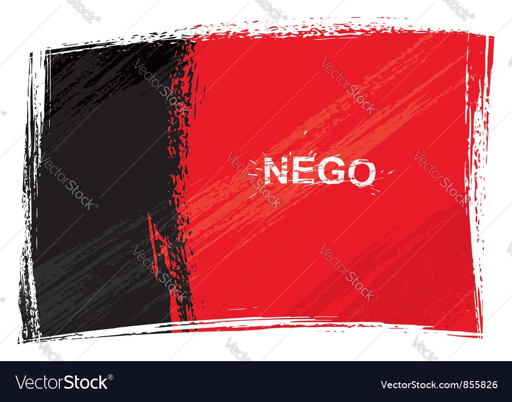 Grunge paraiba flag vector