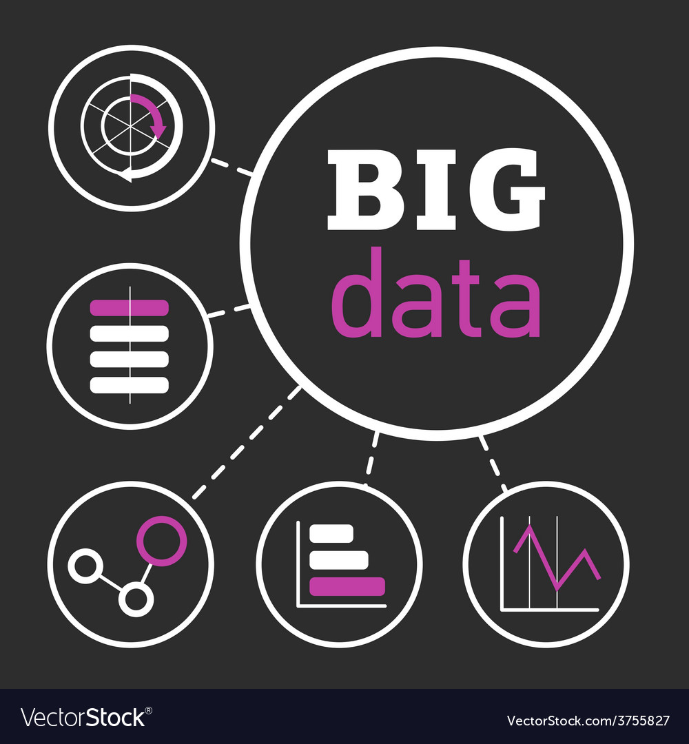 Bigdata vector | Price: 1 Credit (USD $1)