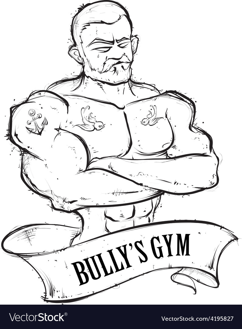 Bullys gym vector | Price: 1 Credit (USD $1)