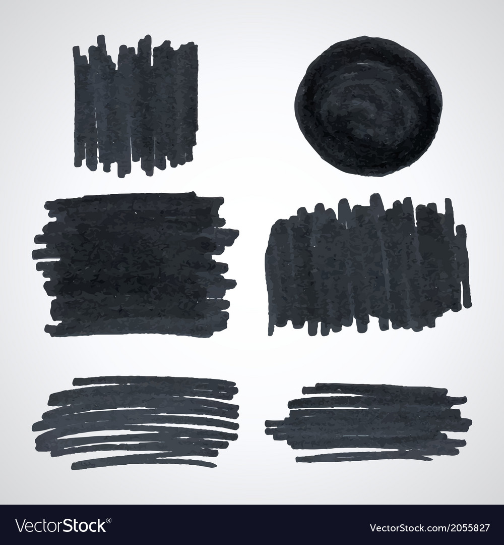 Grunge brush strokes vector | Price: 1 Credit (USD $1)