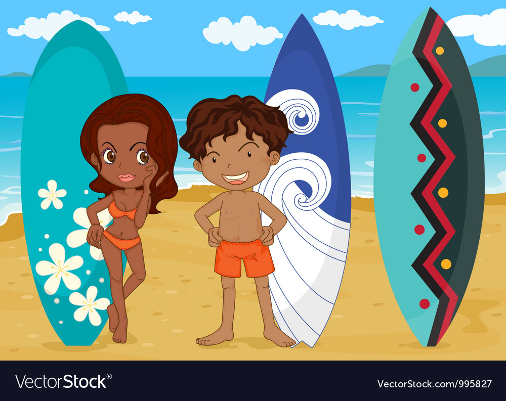 Surf boards vector | Price: 3 Credit (USD $3)