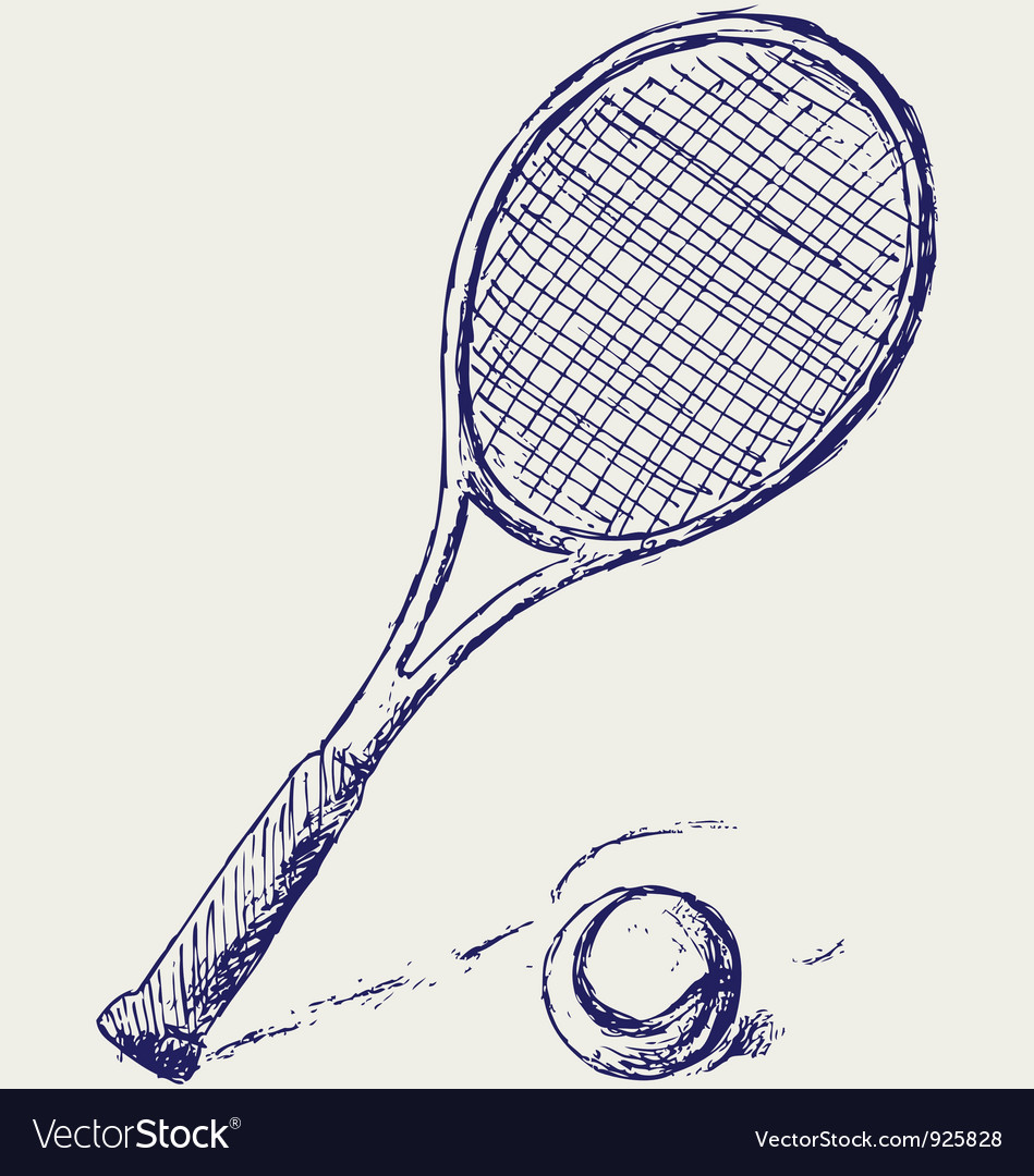 Racket vector | Price: 1 Credit (USD $1)