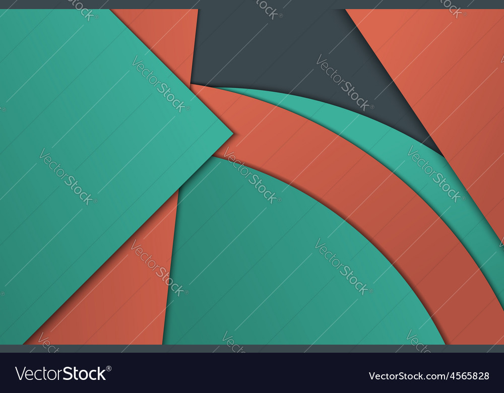 Unusual modern material design vector | Price: 1 Credit (USD $1)