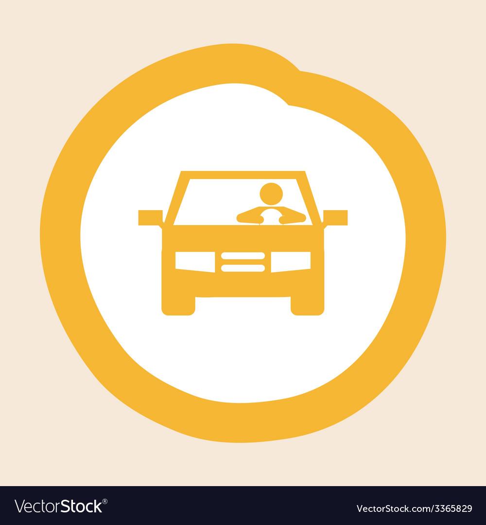Driver design vector | Price: 1 Credit (USD $1)