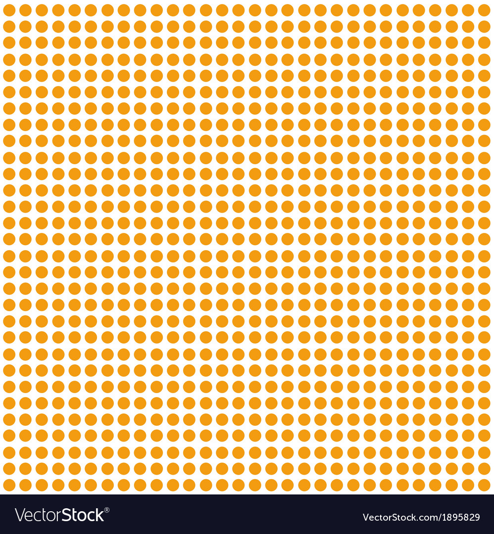 Seamless polka dot background vector | Price: 1 Credit (USD $1)