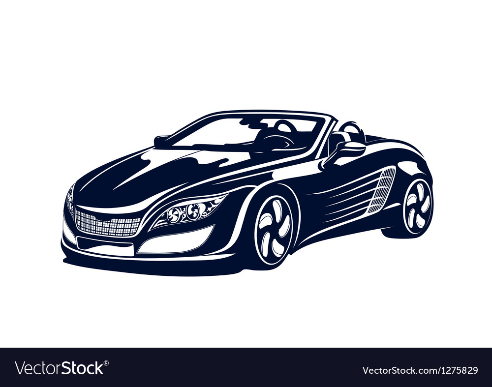 Sport automobile vector | Price: 1 Credit (USD $1)