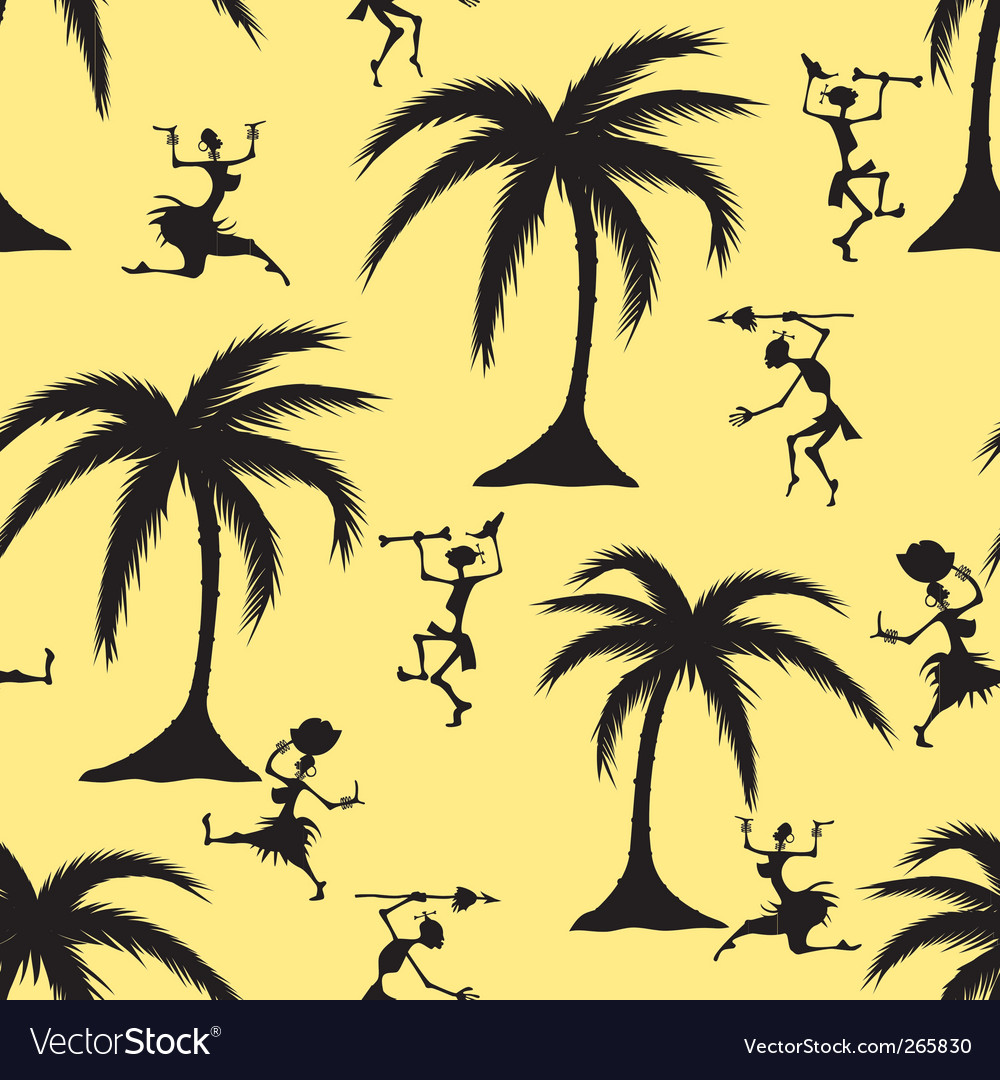African seamless pattern vector | Price: 1 Credit (USD $1)