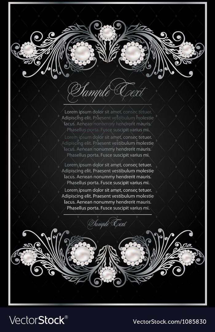 Antique black background vector | Price: 1 Credit (USD $1)