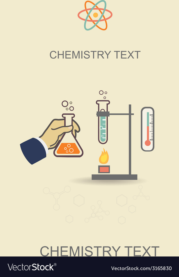 Chemistry infographic poster vector | Price: 1 Credit (USD $1)