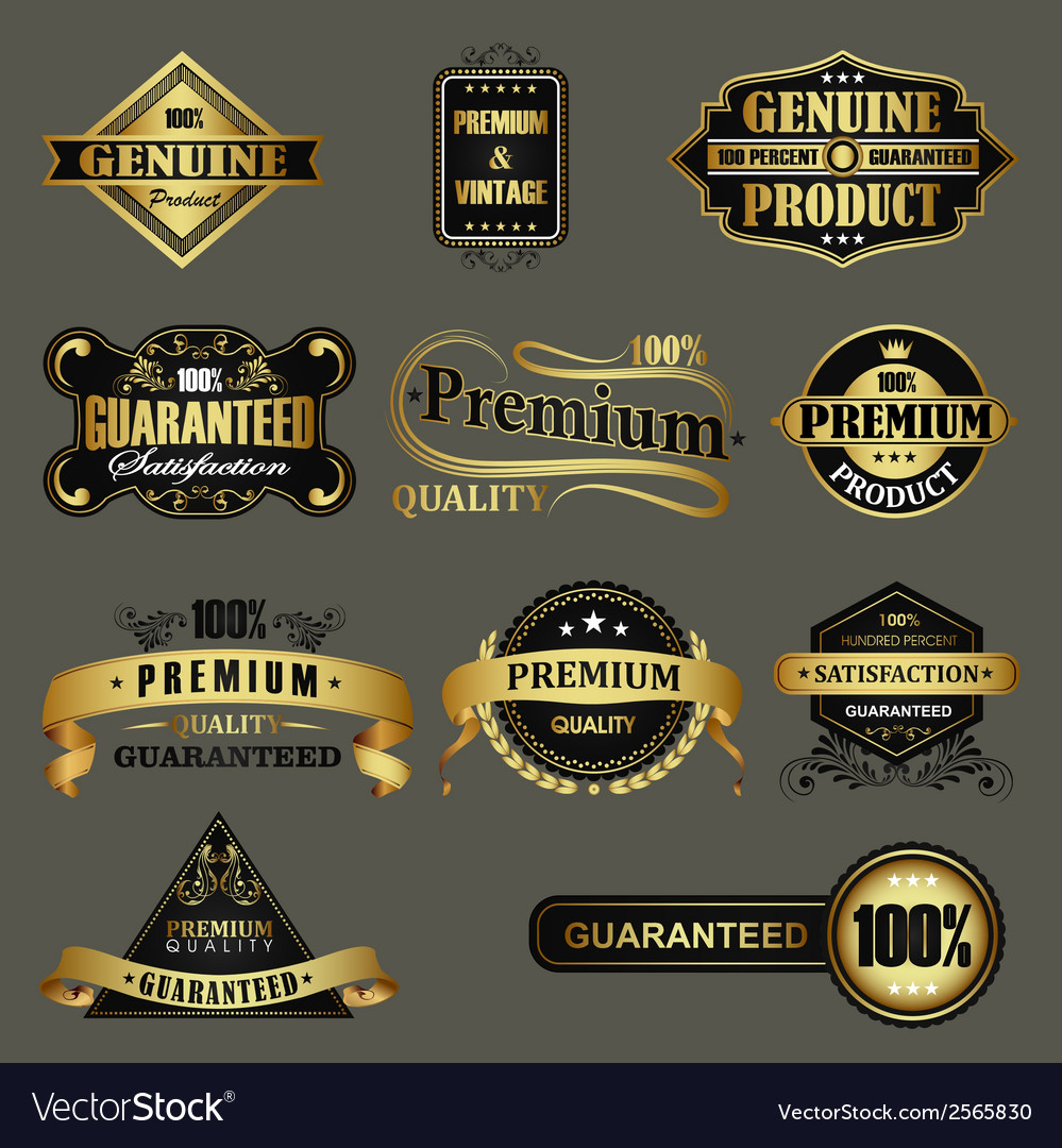 Genuine product vector | Price: 1 Credit (USD $1)