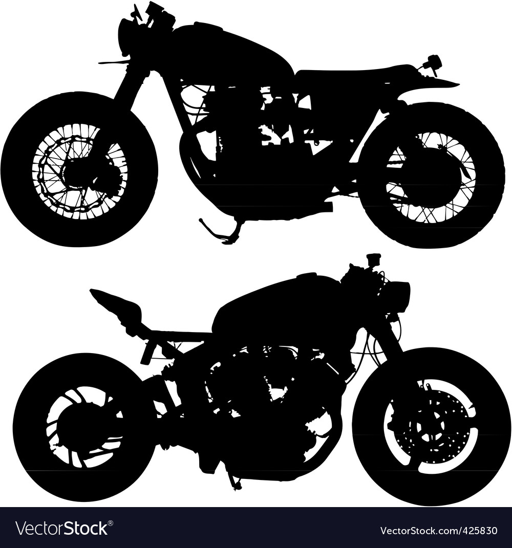 Motor silhouette vector | Price: 1 Credit (USD $1)