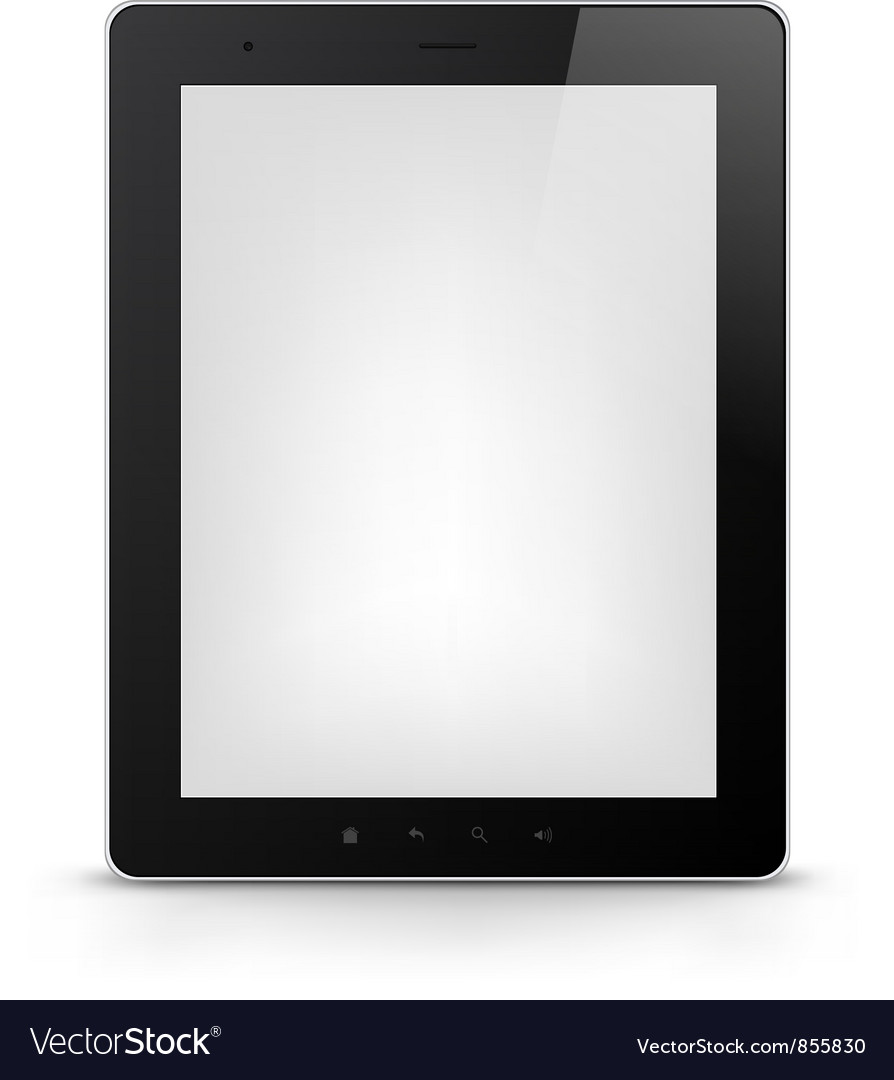 Tablet pc eps 10 vector | Price: 1 Credit (USD $1)