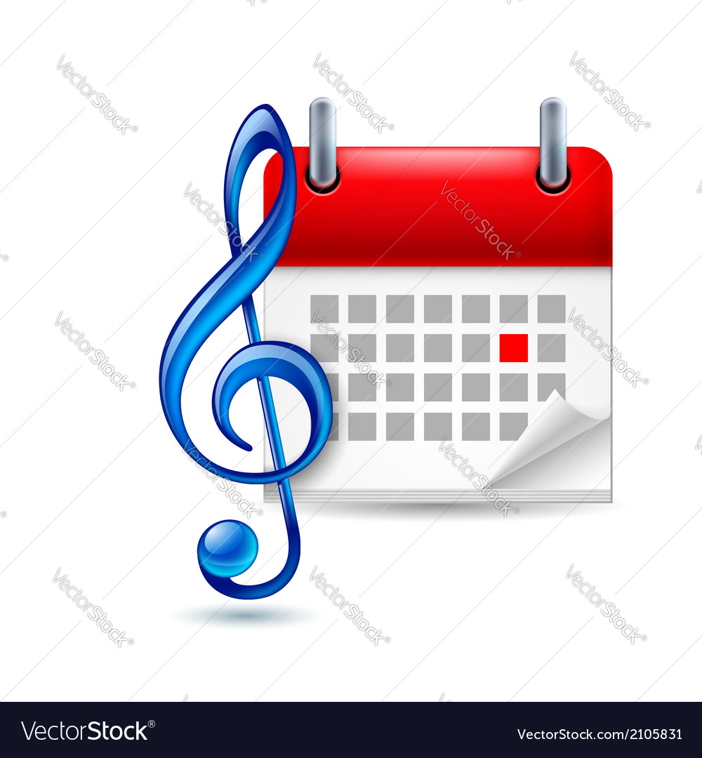 Music event icon vector | Price: 1 Credit (USD $1)