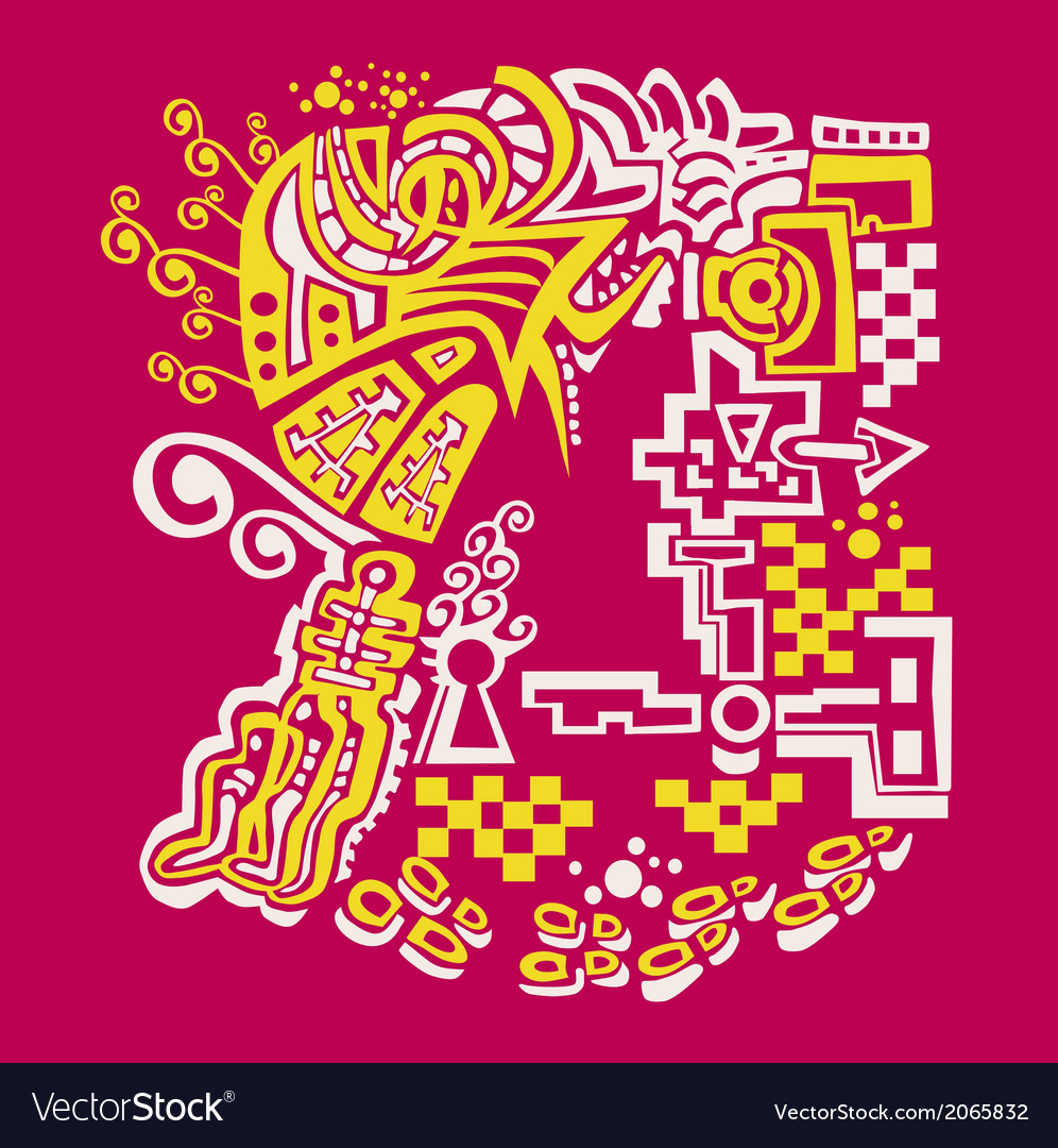 The abstract pattern vector | Price: 1 Credit (USD $1)