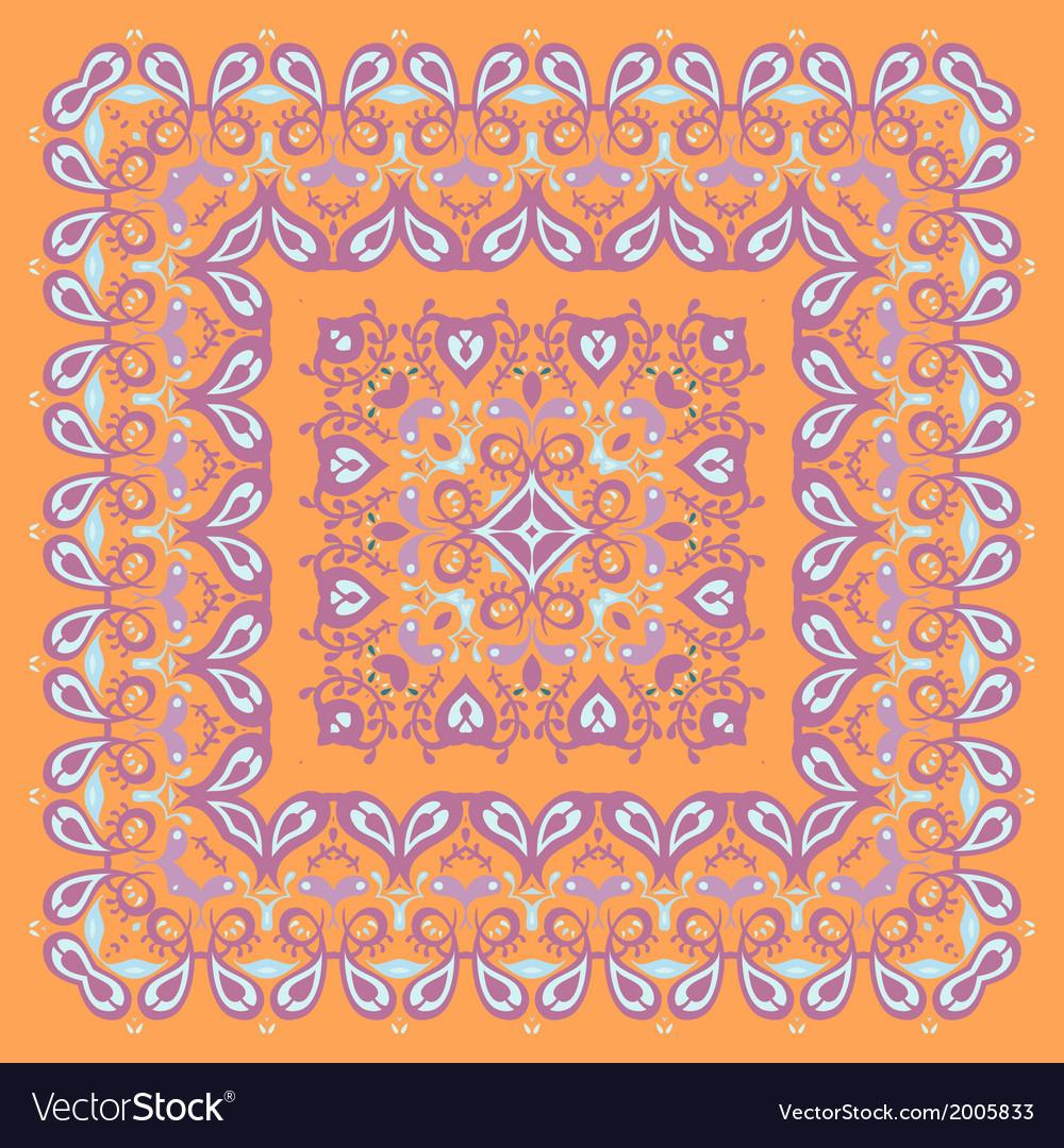 Bandana pattern colorful vector | Price: 1 Credit (USD $1)