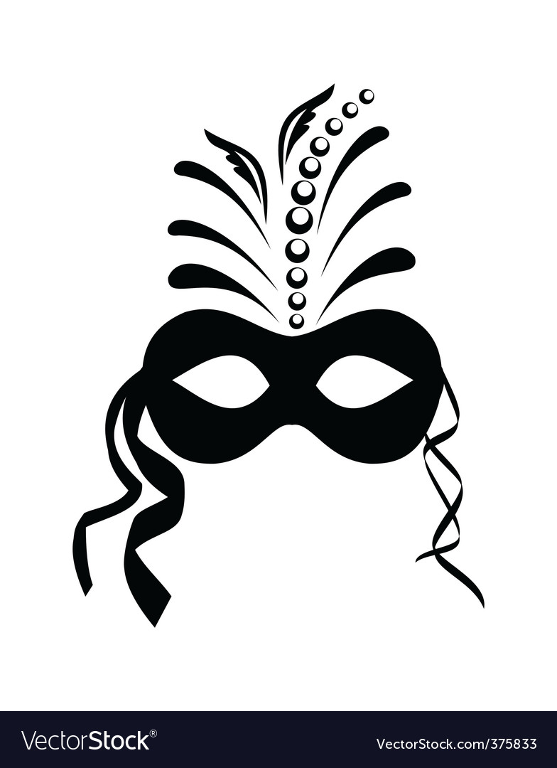 Carnival mask vector | Price: 1 Credit (USD $1)