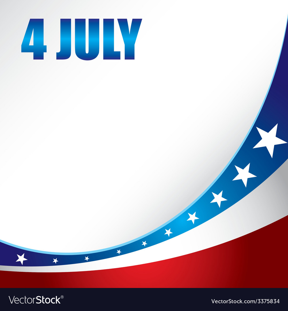 4th of july vector | Price: 1 Credit (USD $1)