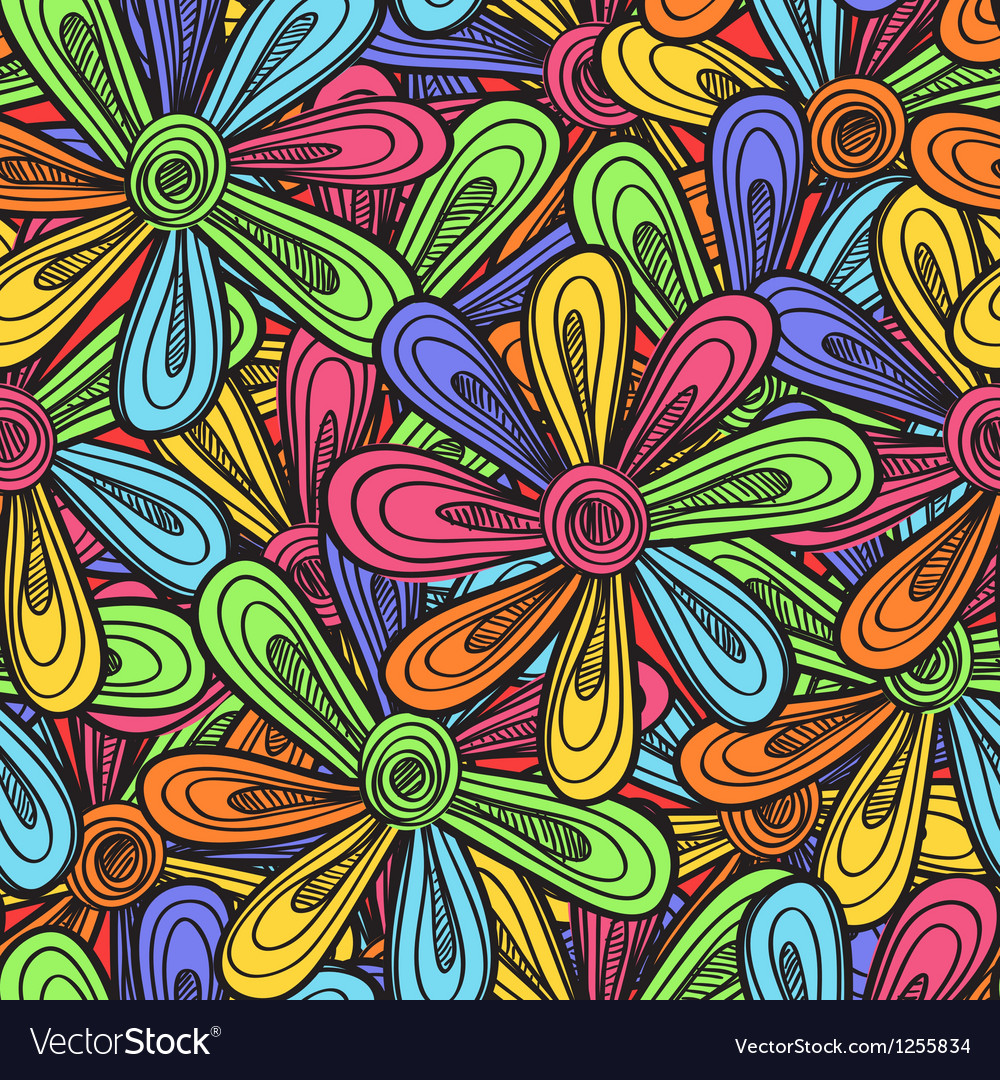 Abstract flowers background vector   Price: 1 Credit (USD $1)