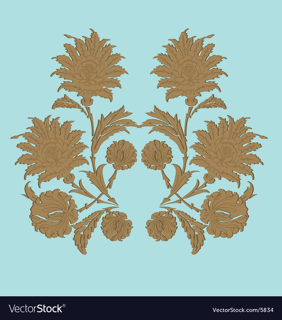 Traditional floral nature art vector   Price: 1 Credit (USD $1)