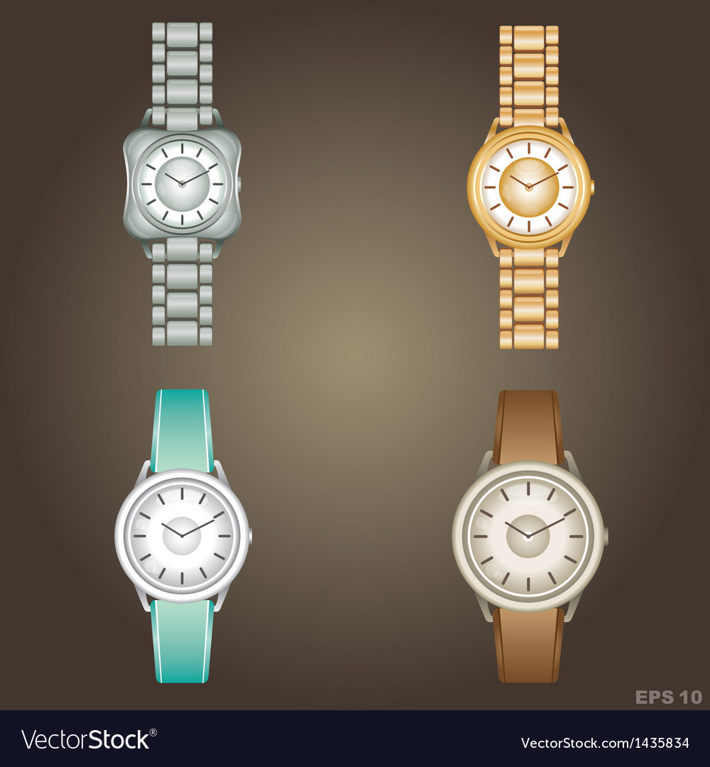 Wristwatch vector | Price: 1 Credit (USD $1)
