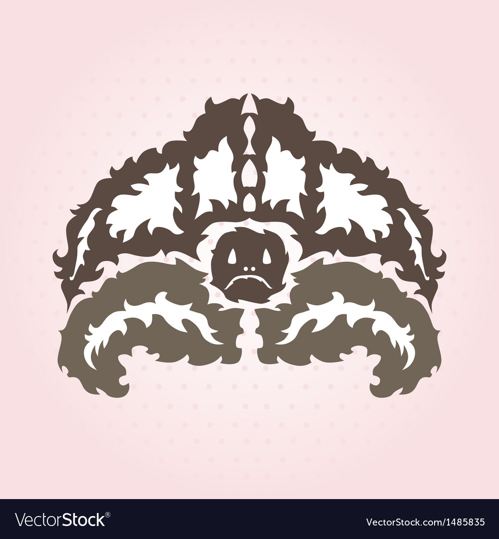 Decorative turtle vector | Price: 1 Credit (USD $1)