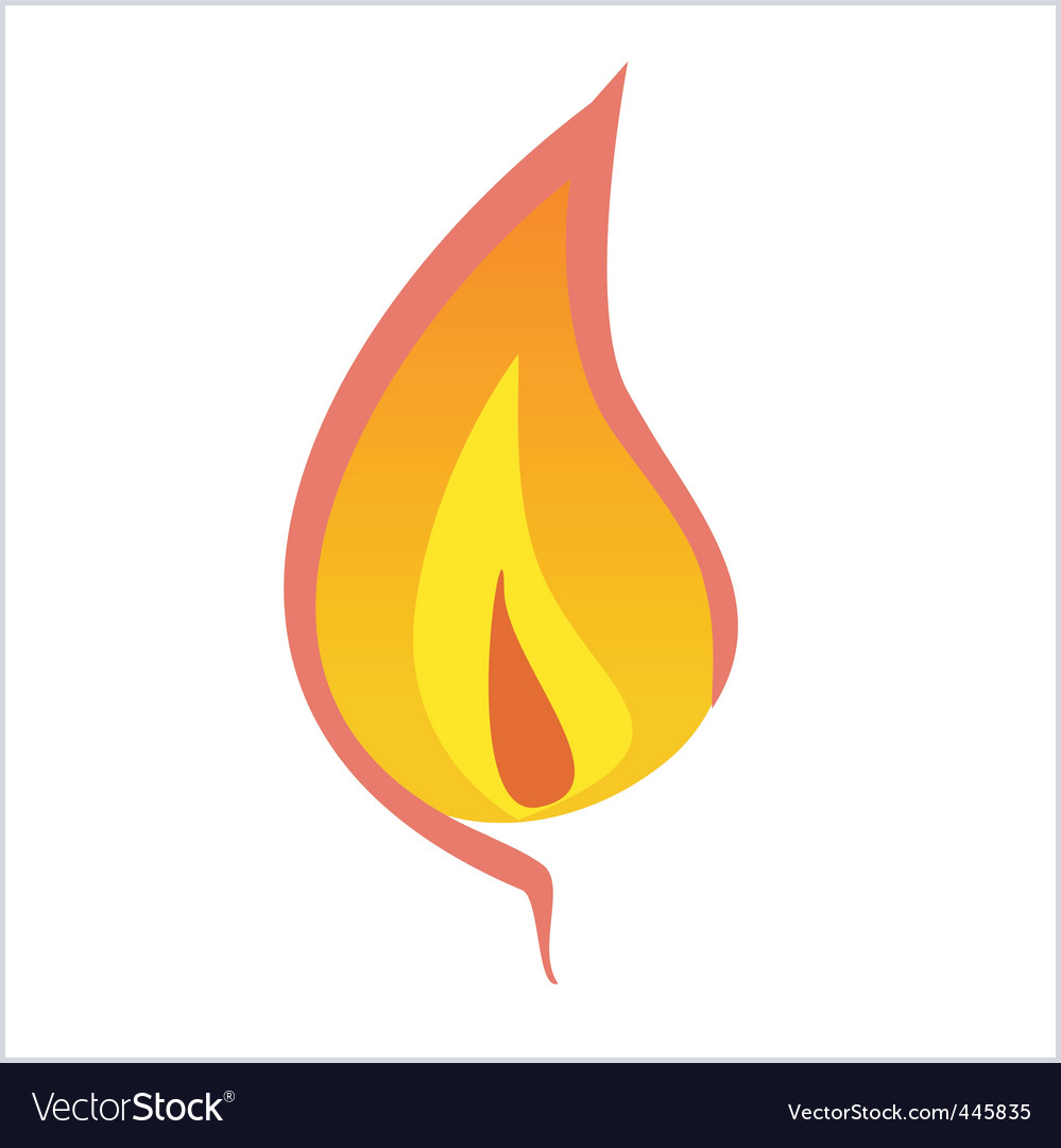 Flame vector | Price: 1 Credit (USD $1)