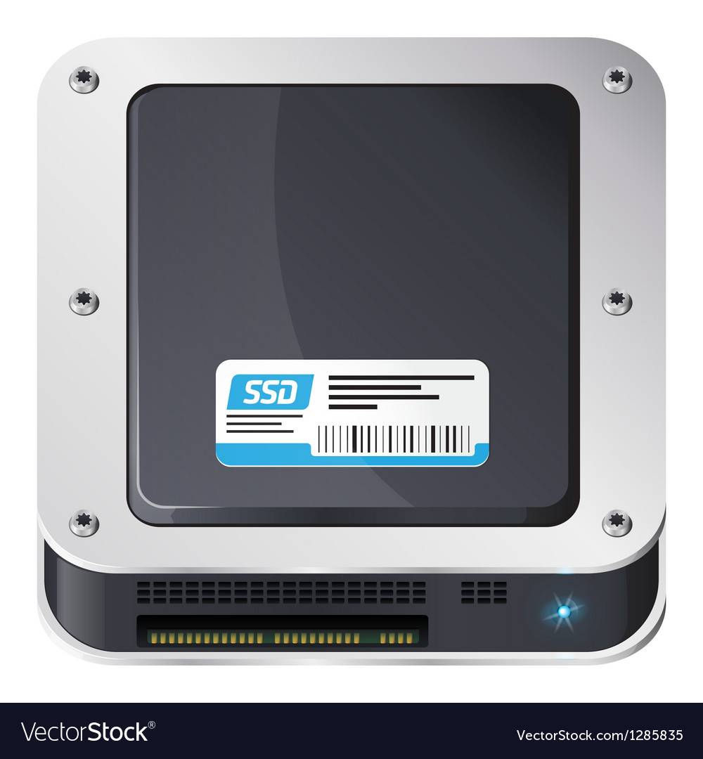 Ssd icon vector | Price: 1 Credit (USD $1)