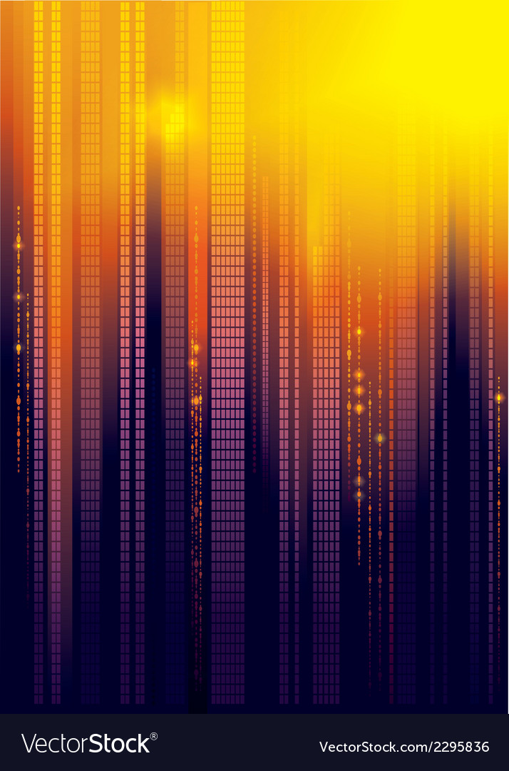 City abstract background vector | Price: 1 Credit (USD $1)