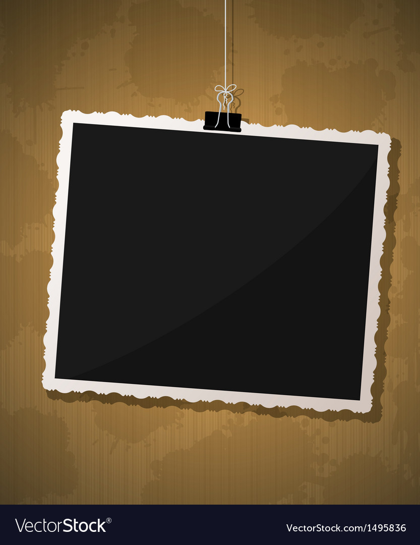 Photo frame design vector | Price: 1 Credit (USD $1)