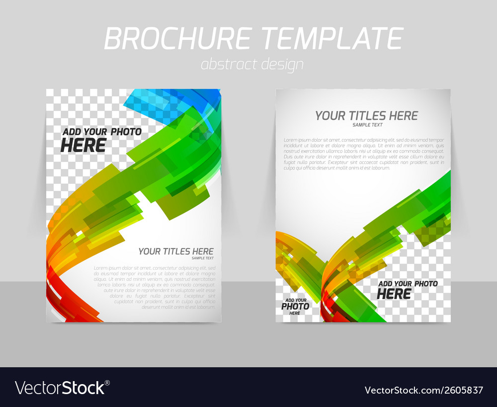 Abstract line motion brochure vector | Price: 1 Credit (USD $1)