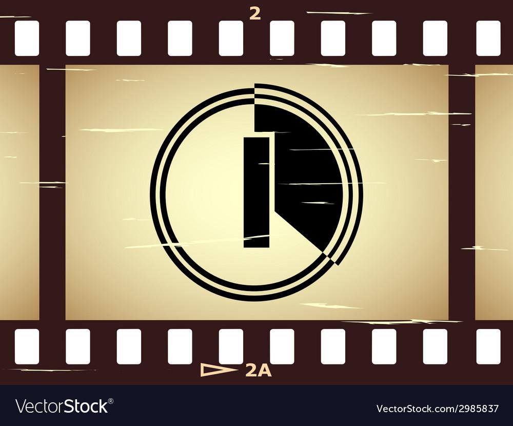 Scratched film strip vector   Price: 1 Credit (USD $1)