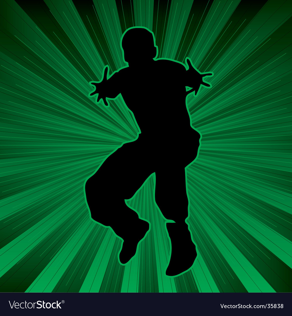Abstract dance background vector | Price: 1 Credit (USD $1)
