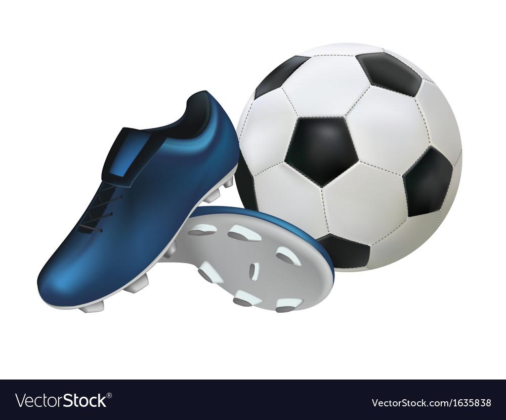 Stud football vector | Price: 1 Credit (USD $1)