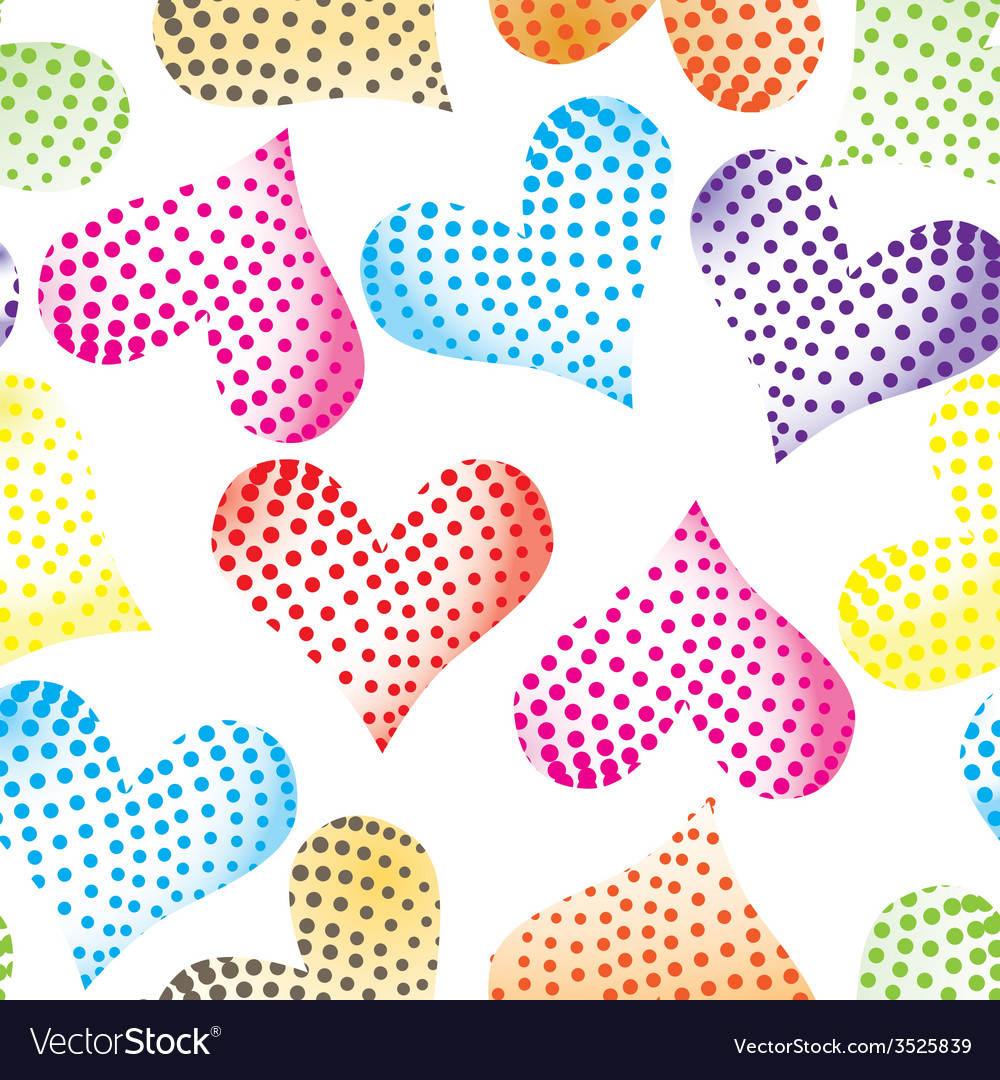 Floral pastel pink pattern heart background seamle vector   Price: 1 Credit (USD $1)