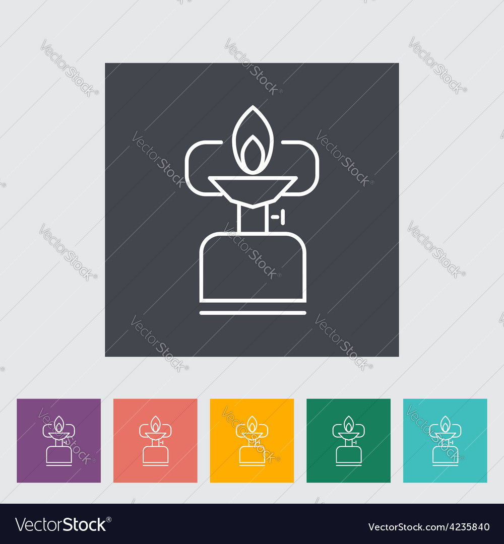 Camping stove vector   Price: 1 Credit (USD $1)
