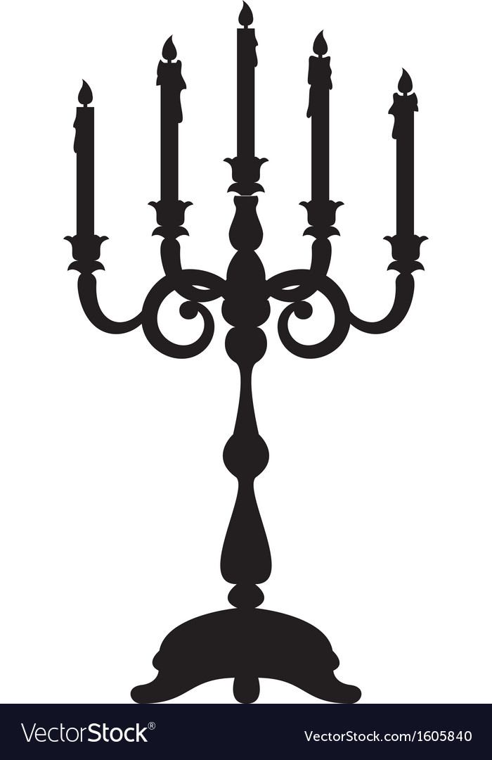 Candelabrum vector | Price: 1 Credit (USD $1)