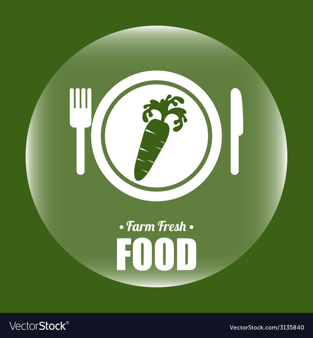 Farm fresh design vector   Price: 1 Credit (USD $1)